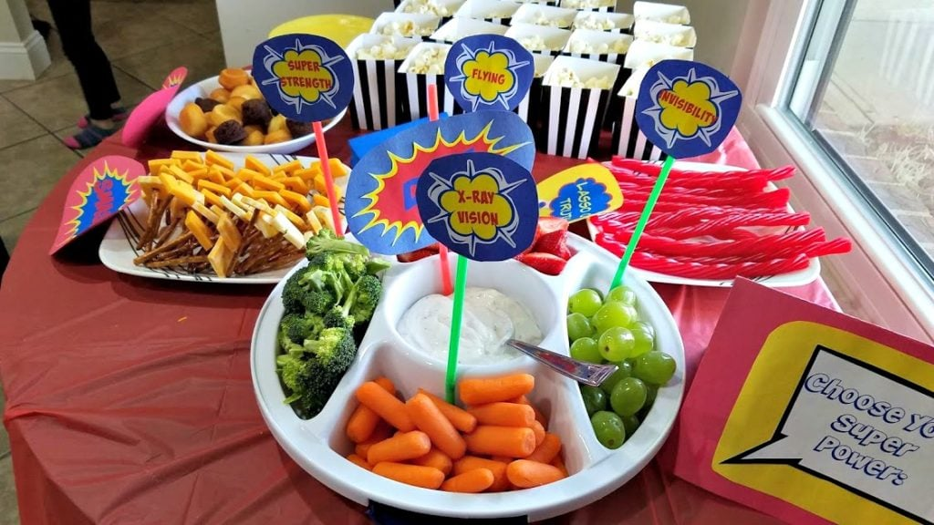 Give your little hero a birthday party to remember! Here's how you can have a Superhero party on a budget, including food and decorations!