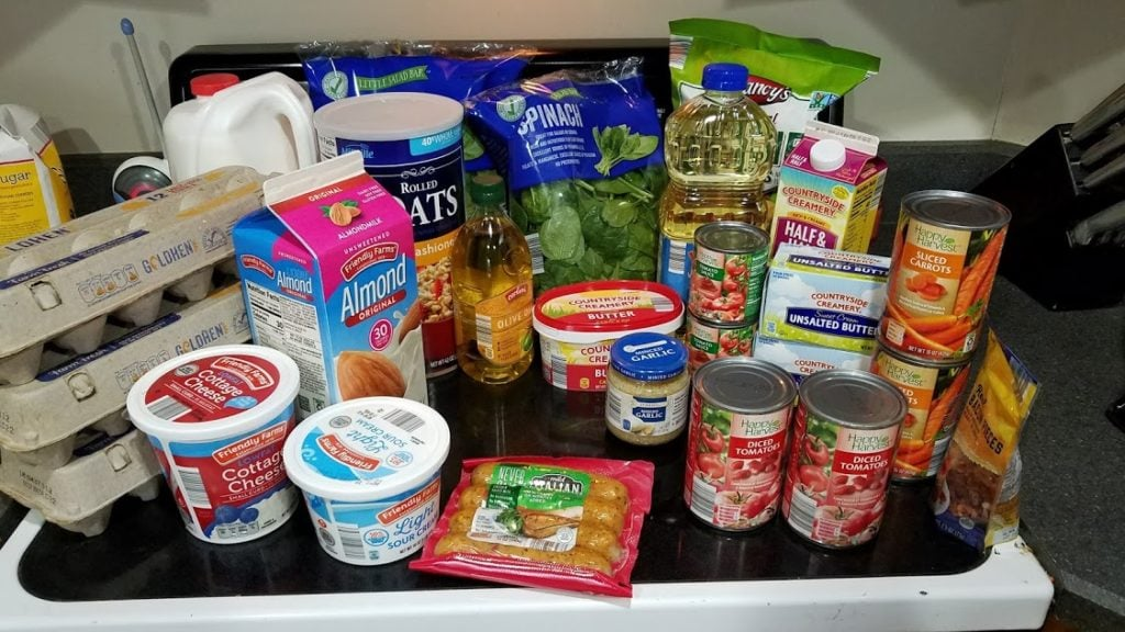 Meal plan, grocery list, and coupon deals for 11-19-18. Want to know what a family of 3 eats for $75 a week? Check back every Monday!