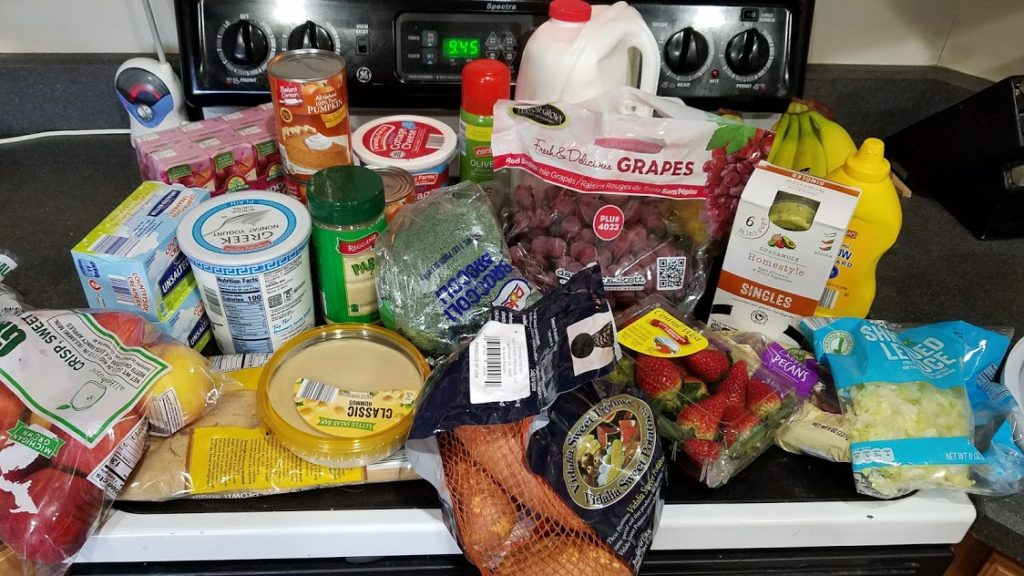 Meal plan, grocery list, and coupon deals for 11-26-18. Want to know what a family of 3 eats for $75 a week? Check back every Monday!