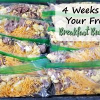 Breakfast Burrito Packs (4 Weeks to Fill Your Freezer Day 3)