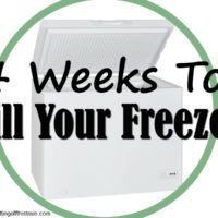 4 Weeks to Fill Your Freezer Week 3- Dinner
