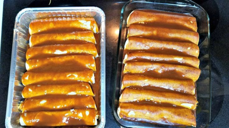Red Chicken Enchiladas (4 Weeks to Fill Your Freezer Day 15)