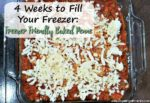 Freezer Friendly Baked Penne (4 Weeks to Fill Your Freezer Day 11)