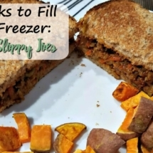 Freezer Sloppy Joes (4 Weeks to Fill Your Freezer Day 13)