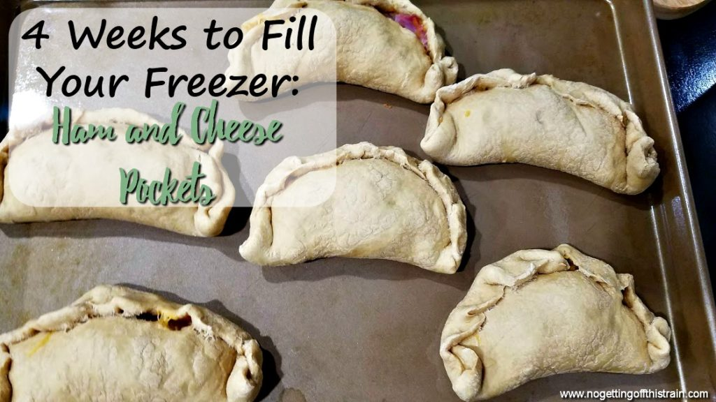 These oven-baked Freezer Ham and Cheese Pockets are a quick, easy-to-make, and portable lunch to have on hand on busy days!