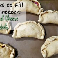 Freezer Ham and Cheese Pockets (4 Weeks to Fill Your Freezer Day 6)