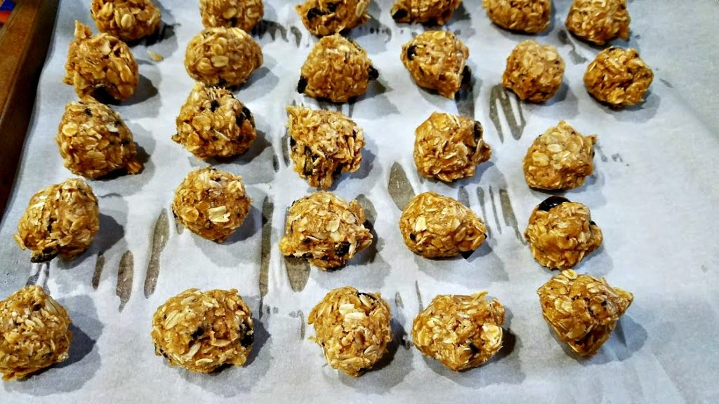 Need a quick, healthy snack? These Peanut Butter Energy Bites are freezer friendly and portable, great for pre-workout or afternoon snacks!