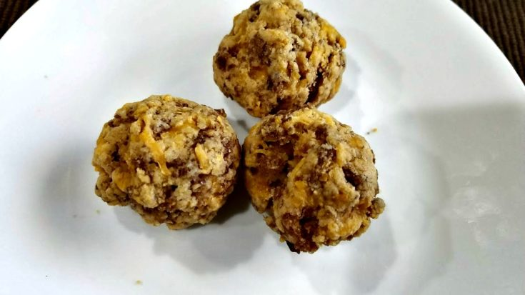 Healthy Breakfast Sausage Balls
