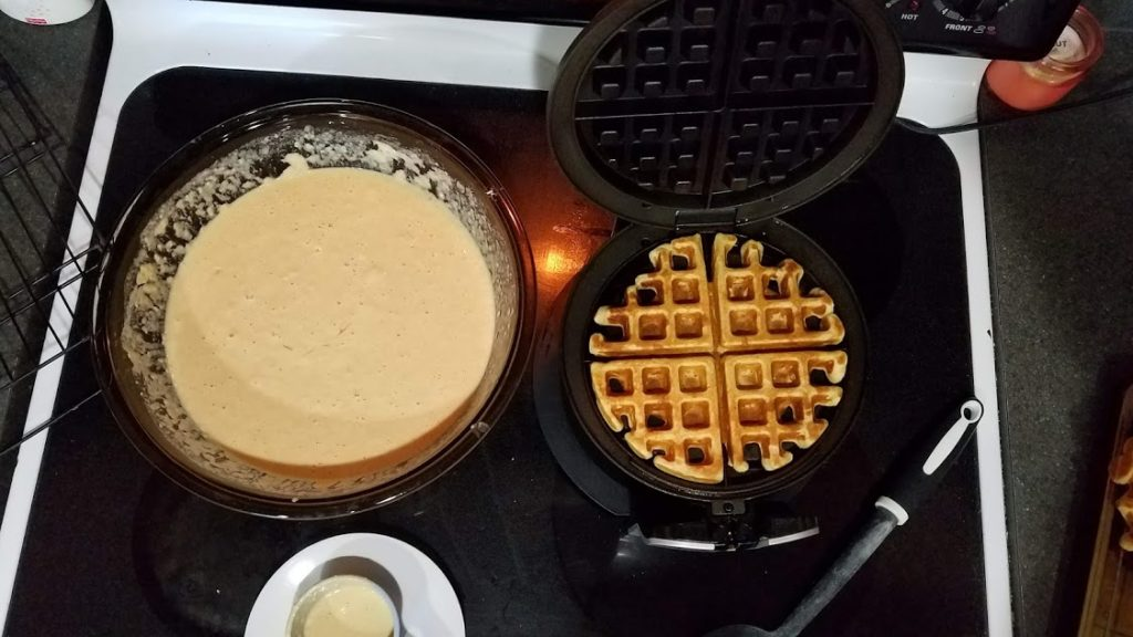 These freezer-friendly Whole Wheat Waffles make a delicious and quick breakfast! Much cheaper than store-bought and healthier, too!