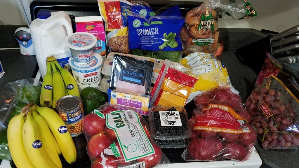 Meal plan, grocery list, and coupon deals for 12-10-18. Want to know what a family of 3 eats for $75 a week? Check back every Monday!