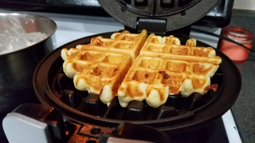 Pizza Waffles are a fun and unique way to eat pizza! Use your waffle maker to create an easy, no-fuss dinner with all your favorite pizza ingredients!