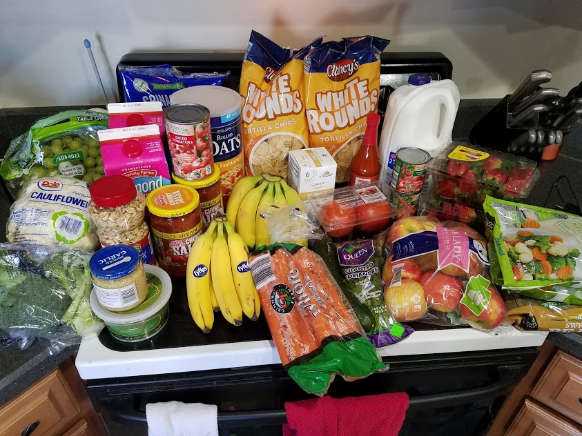 Meal plan, grocery list, and coupon deals for 1-28-19. Want to know what a family of 3 eats for $75 a week? Check back every Monday!
