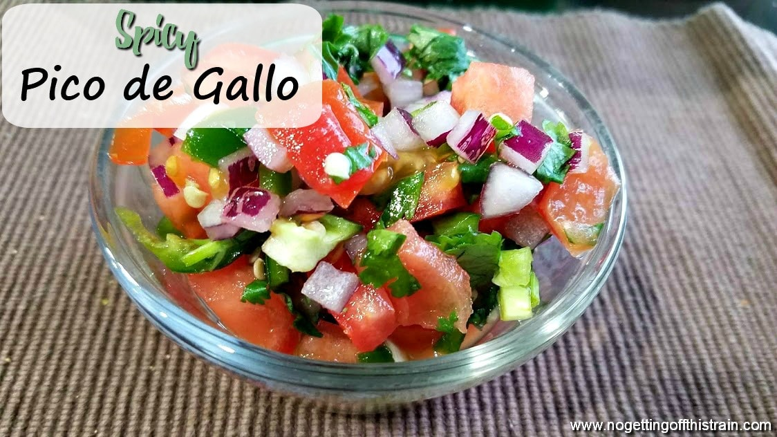 Spicy Pico de Gallo (Plus a Giveaway!)
