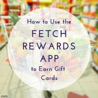 How to Use the Fetch Rewards App to Earn Gift Cards