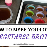 How to Make Your Own Vegetable Broth