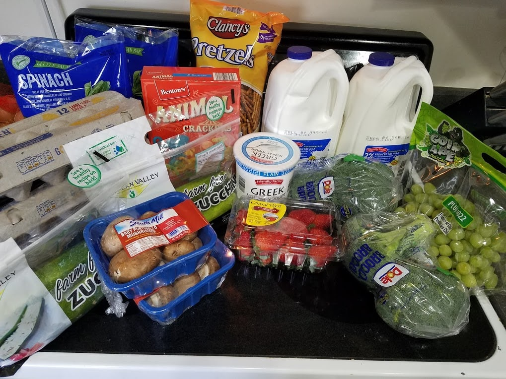 Meal plan, grocery list, and coupon deals for 3-4-19. Want to know what a family of 3 eats for $75 a week? Check back every Monday!