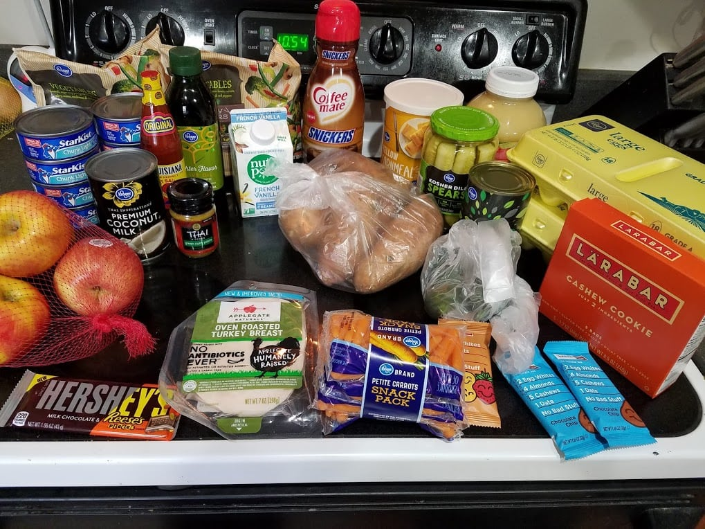 Meal plan, grocery list, and coupon deals for 3-11-19. Want to know what a family of 3 eats for $75 a week? Check back every Monday!