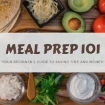 Meal Prep 101 blog