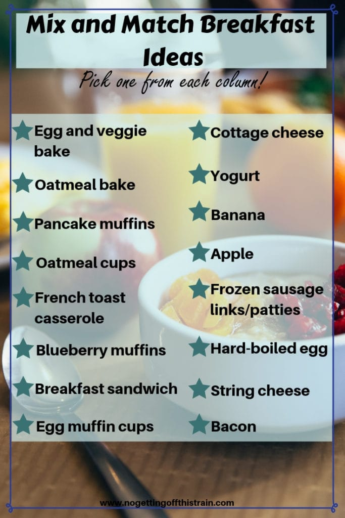 Do you struggle with feeding your family a good breakfast every morning? Here's how you can meal prep breakfast for a full week to save time and stress!