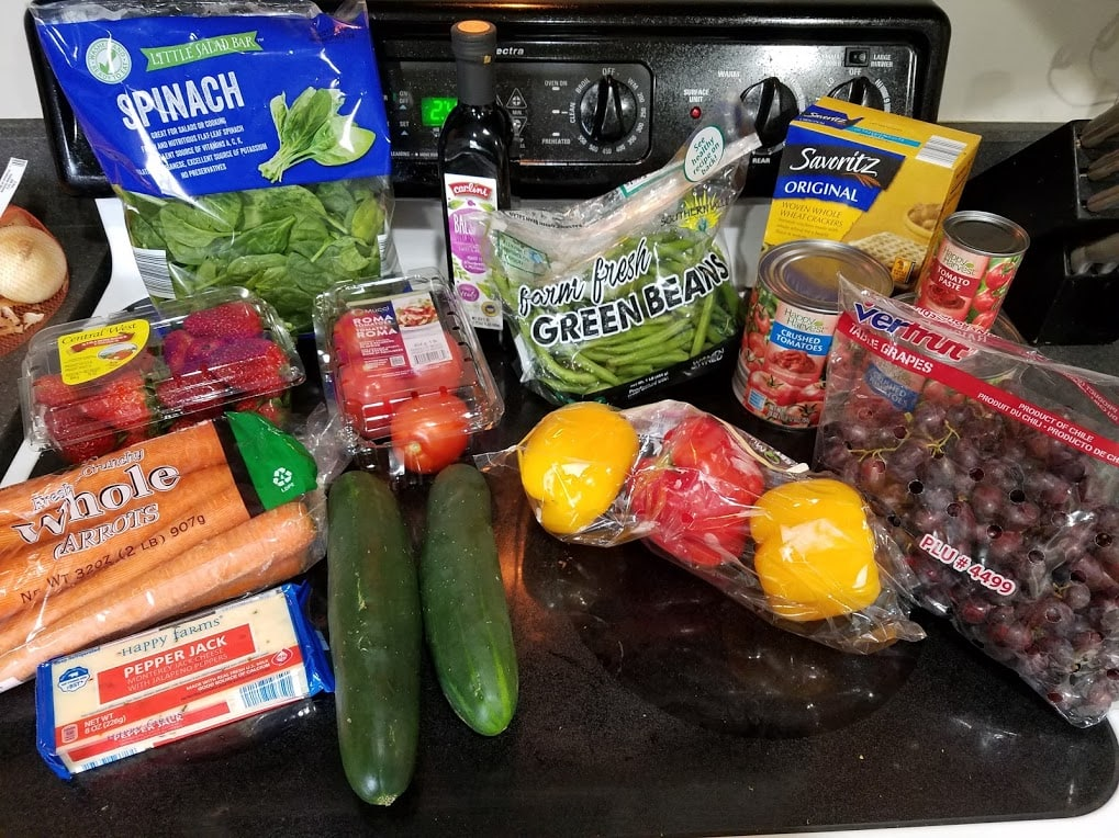 Meal plan, grocery list, and coupon deals for 4-15-19. Want to know what a family of 3 eats for $75 a week? Check back every Monday!