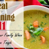 Meal Planning 911- Feeding Your Family When Money is Tight
