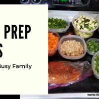 Meal Prep Ideas For Your Busy Family