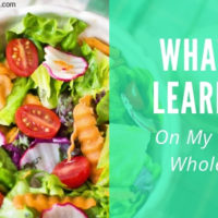 What I Learned on My First Whole30