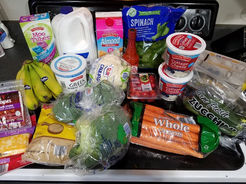 Meal plan, grocery list, and coupon deals for 5-13-19. Want to know what a family of 3 eats for $75 a week? Check back every Monday!