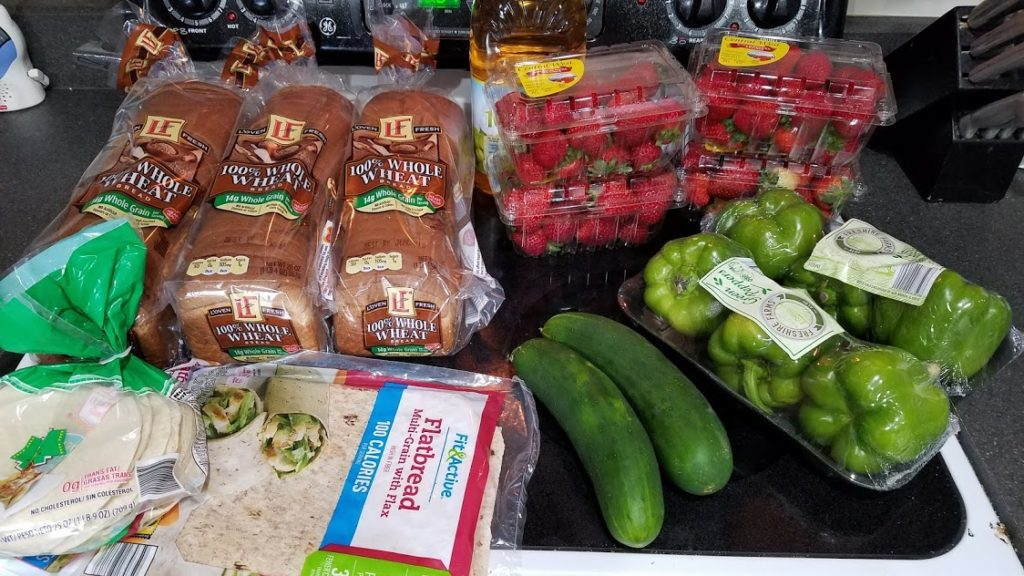 Meal plan, grocery list, and coupon deals for 7-15-19. Want to know what a family of 3 eats for $75 a week? Check back every Monday!