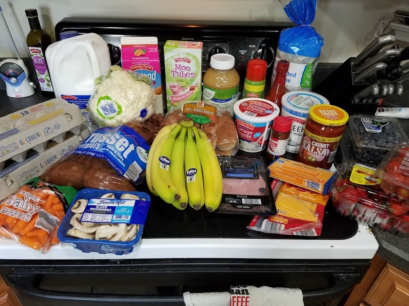 Meal plan, grocery list, and coupon deals for 7-22-19. Want to know what a family of 3 eats for $75 a week? Check back every Monday!