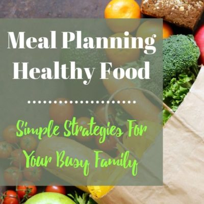 How Do You Meal Plan Healthy Food?