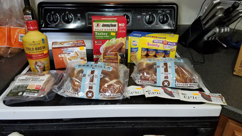 Image of groceries from Mr. Mac's Grocery Outlet