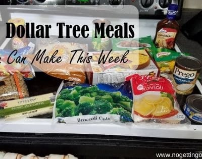 3 Dollar Tree Meals You Can Make This Week