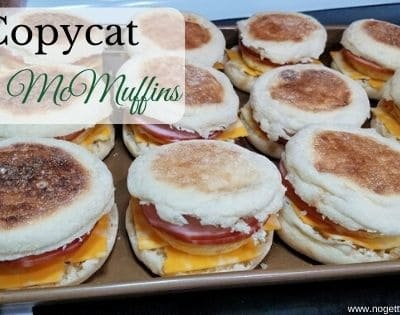 Copycat Egg McMuffin Sandwiches