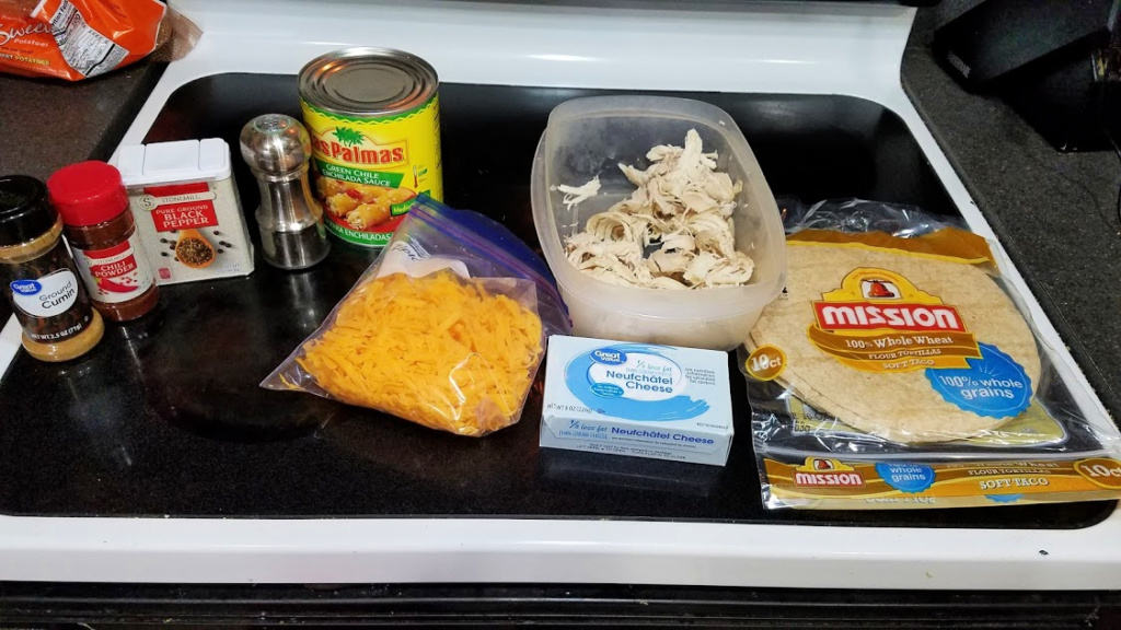 Image of enchilada ingredients