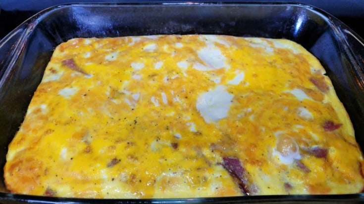 Freezer Ham and Egg Casserole