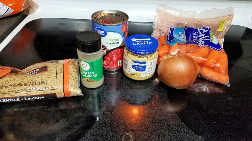 Image of soup ingredients