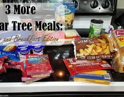 3 More Dollar Tree Meals: Breakfast and Dinner Edition