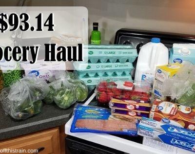 I'M BACK! $93.14 Grocery Haul 4-27-20
