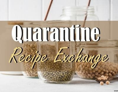 Quarantine Recipe Exchange- Simple Pantry Recipes