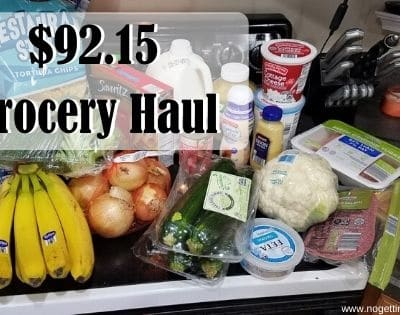 $92.15 Grocery Haul 5-18-20