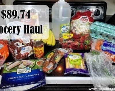 Aldi is King- $89.74 Grocery Haul 5-11-20