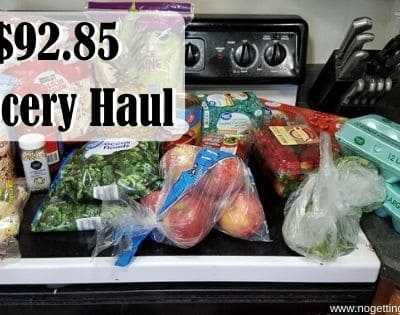 I Went Inside a Store! $92.85 Grocery Haul