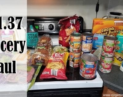 $91.37 Grocery Haul 6-1-20
