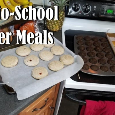 Easy Back-to-School Freezer Meals