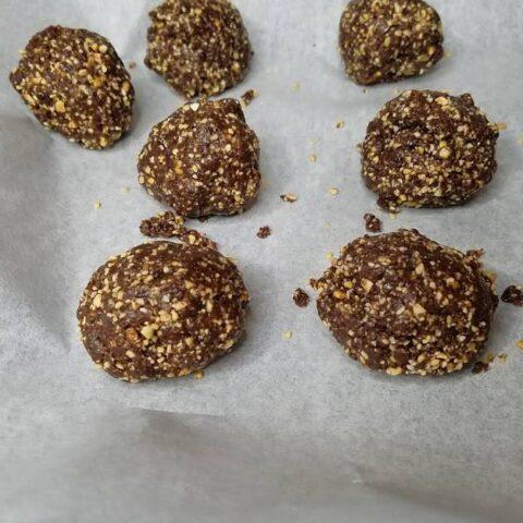 Freezer Brownie Larabar Bites