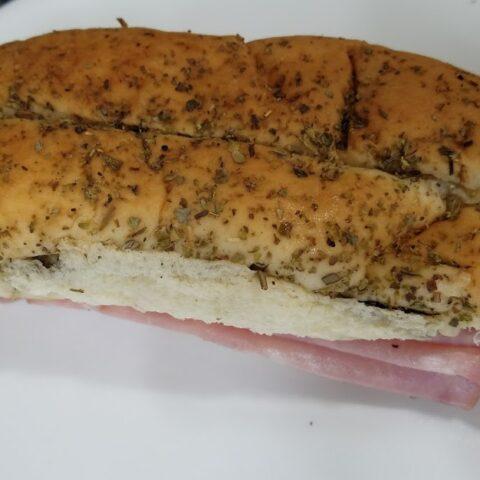 Freezer Ham and Cheese Sandwiches