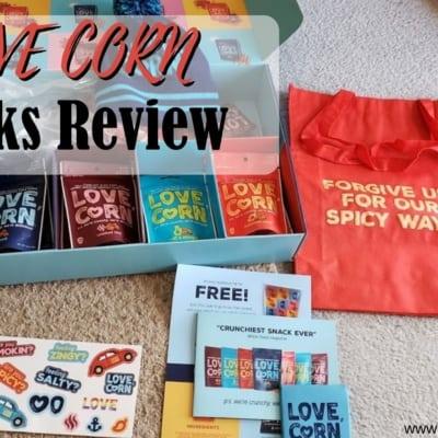 Review of LOVE CORN Snacks